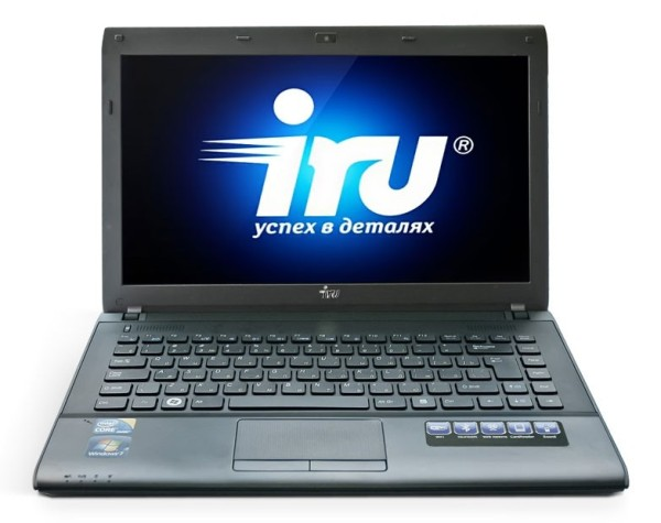 Чистка системы охлаждения ноутбука IRU